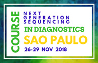Course: NGS in diagnostics, Sao Paulo, 26-29 november 2018